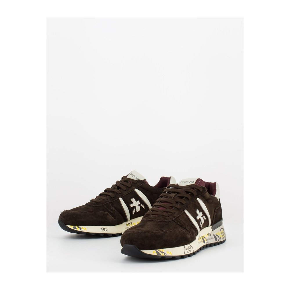 Brown Lander | Premiata | Sneakers | Herenschoenen