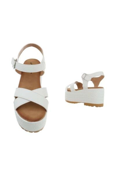 White Sandals 40 | Mulanka | Sandaler