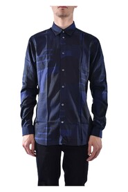 LONG SLEEVE SHIRT IN COTTON