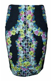 Printed Skirt with Pockets