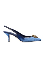 Applizierte Stiletto-Pumps