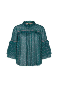 ]OTN Georgette Bluse Recycled Sustainable 1-9508-1 00472
