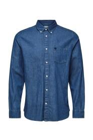 Blå Selected Homme Collect Denim Skjorte Regulær Skjorte