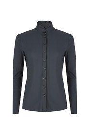 Travel blouse ruches U719aw110