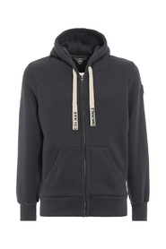 Hoodie with branded drawcord