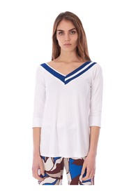 3/4 SLEEVE SWEATER WITH