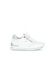 Sneakers 66.528.50 h-leest wit leer