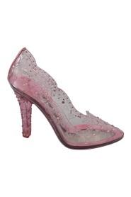 Crystal Floral Heels  CINDERELLA Shoes