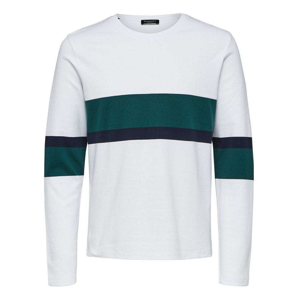 Knitted Pullover Block stripe