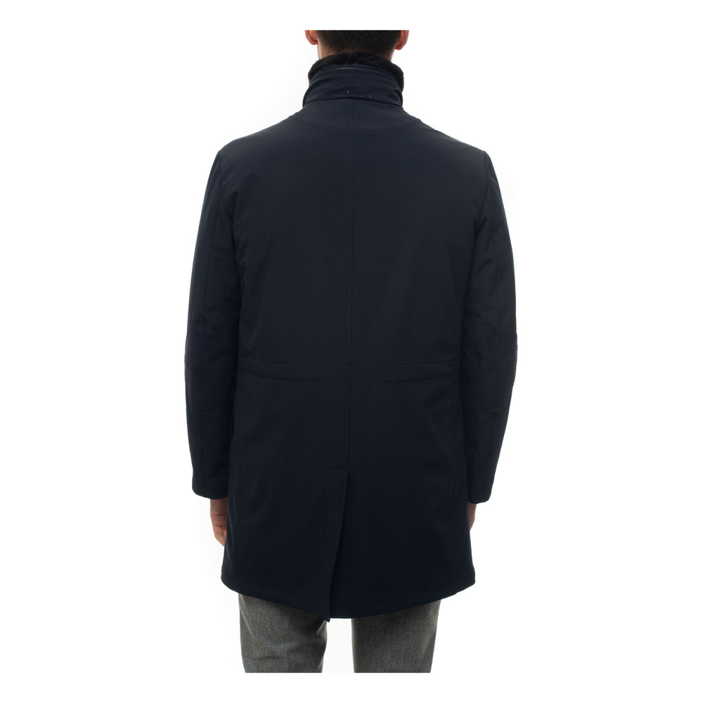 Kiton Blue Fabric jacket Kiton