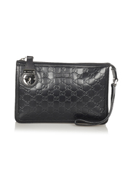 Pre-owned Guccissima Clutch Bag
