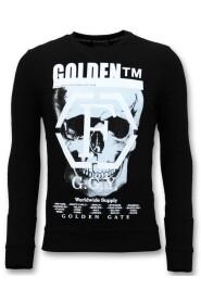 Sweater met Print 7319