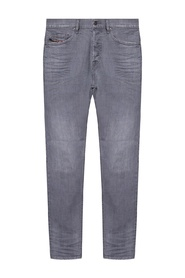 D-Luster jeans with gathers