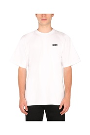 T-SHIRT WITH RUBBER LOGO