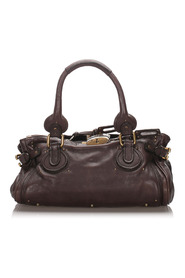 Leather Paddington Handbag