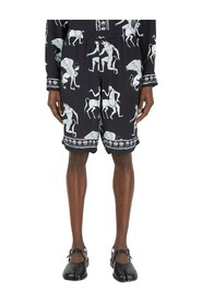 Theriantrhope Print Shorts