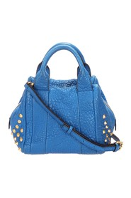 Studded Leather Satchel