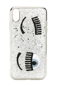 Iphone X / XS Cover flirting glitter liquid