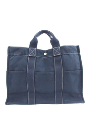 pre-owned Sac Deauville MM Fabric Canvas