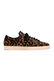 ZSP4 leopard pony leather sneakers