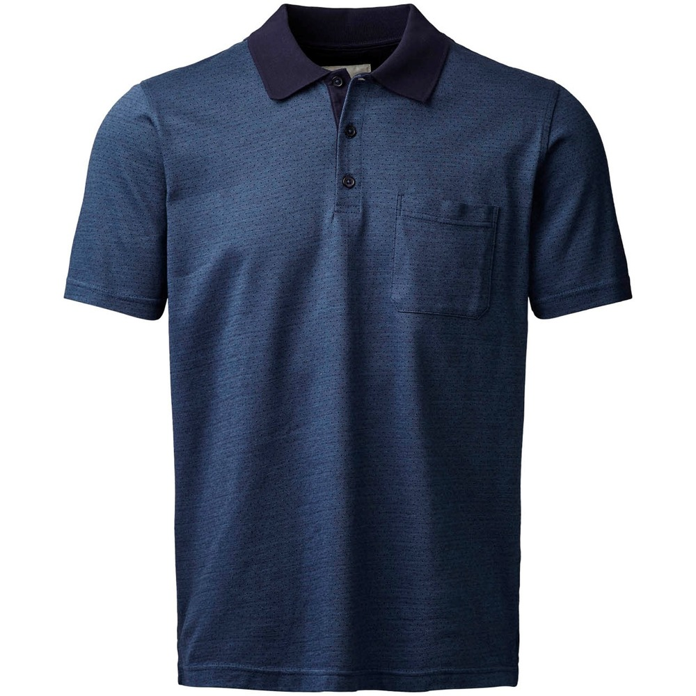 Polo shirt with buttons
