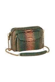 Big Charly python leather bag