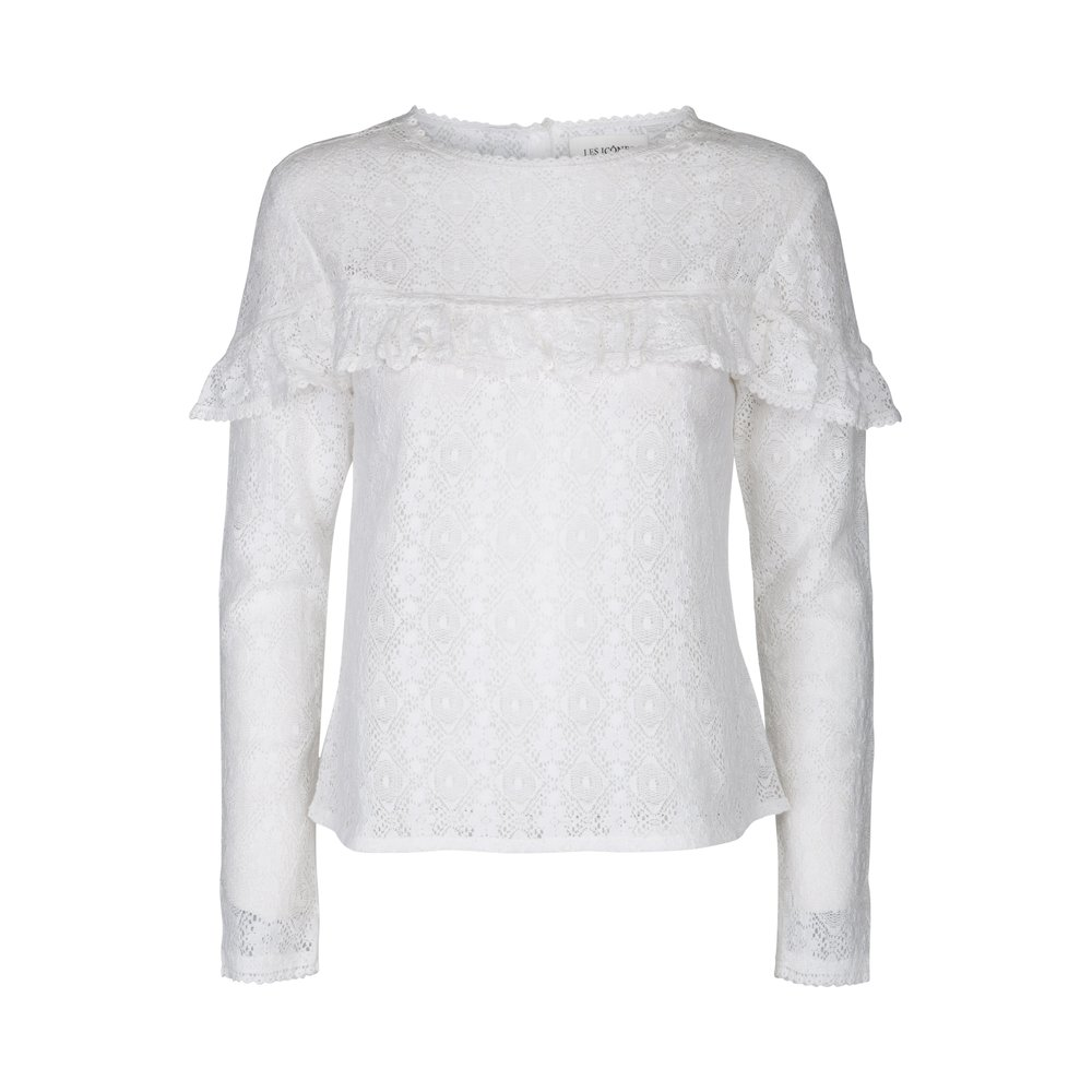 Iconic Lace Ruffle Top