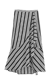 Copy of LILLY Striped Wrap-Skirt