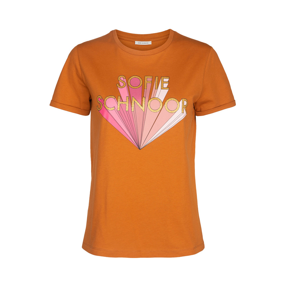 as shown on the picture  S191318 TOFFEE  Sofie Schnoor  T-shirts