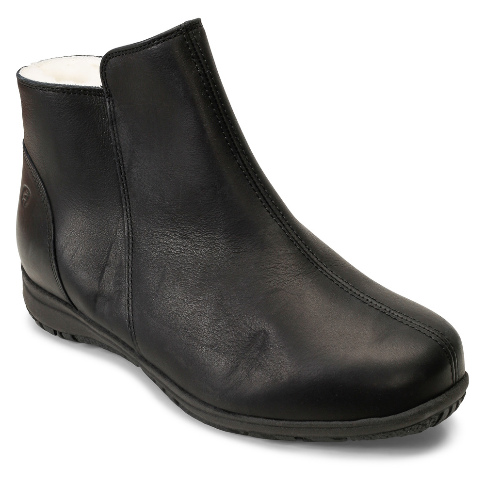 Black Vinterstøvler  Klaveness  Vintersko