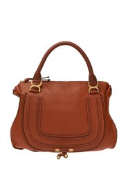Marcie leather shoulder bag