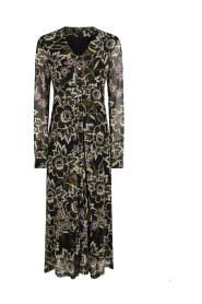 c02-97-501 jurk mesh bloemen
