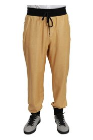 Gold Year Of The Pig  Pants