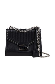 Studded Chain Crossbody Bag
