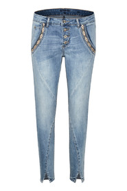 Blå CREAM Holly jeans Bailey fit 7/8