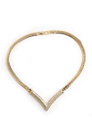 Begagnat halsband i V-form