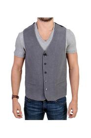 cotton blend casual vest