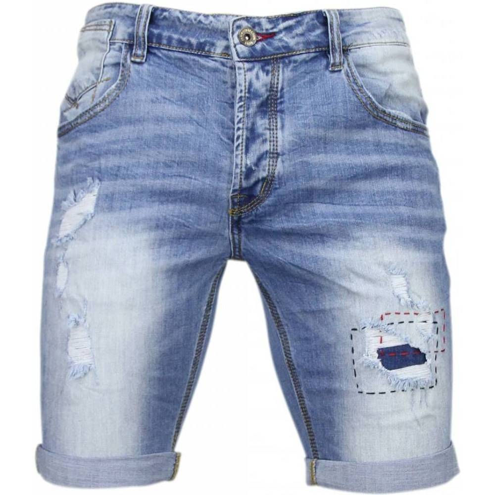 Slim Fit Denim Summer Vibe Shorts