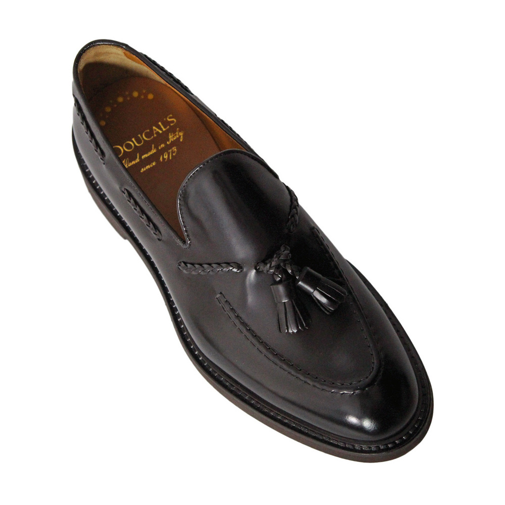 brown Loafers - VEROUF160-UM02 | Doucals | Loafers | Men's shoes