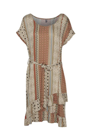 MOURITZA BELTED DRESS