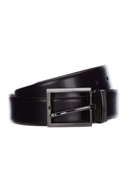 Belt reversible double genuine leather