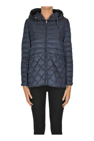 Quilted lightweight down jacket