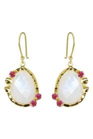 Mona Moonstone Earrings