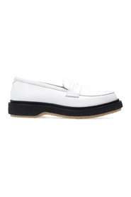 Type 5 leather loafers