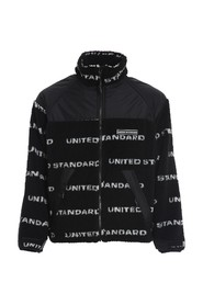 FLEECE LOGO JACKET