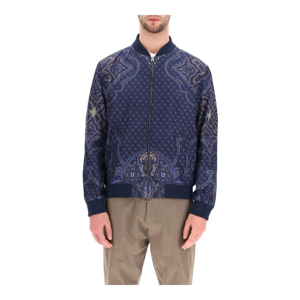 Benetroessere bomber jacket Etro