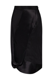Skirt with cut-outs