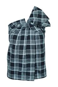 One Shoulder Checked Top - Pre-Owned Condition Mycket bra