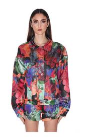 JACKET WITH FLOWER PRINT