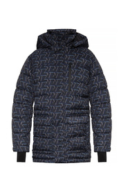 Down jacket with monogram